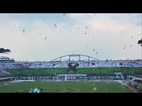 Aksi dan Koreo Brigata Curva Sud