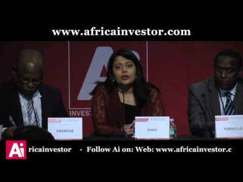 Sneha Shah, MD, Thomson Reuters Sub-Saharan Africa, at the Ai CEO Investment Summit 2015