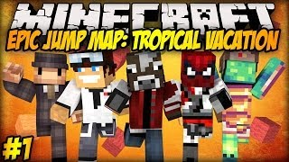 Minecraft: JAŚ ADMINISTRATOR! - Epic Jump Map: Tropical Vacation #1 thumbnail