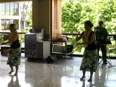 MVI_6652 Hawaii- Honolulu open airport dancers.avi