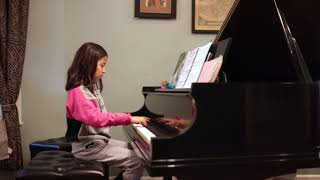 "Amaya plays ""Shadows at Dusk"" (by Julie Knerr)"