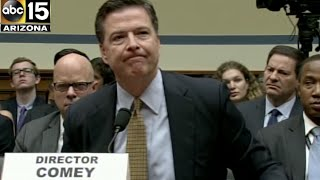 Uncomfortable. FBI Director James Comey takes scolding from Congressman over Hillary e-mails