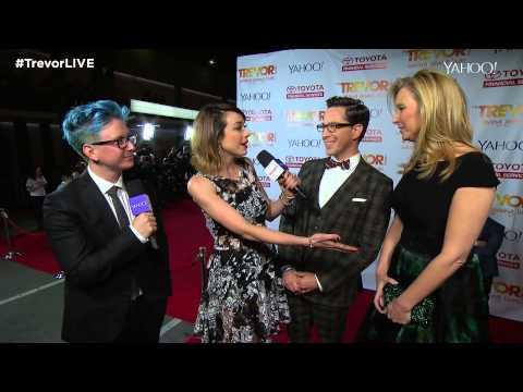 TrevorLIVE LA 2014 Red Carpet: Lisa Kudrow and Dan Bucatinsky