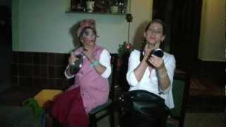 Sketch Comedy Spaß Video Feine Dame im Zug