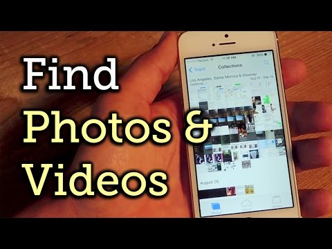 Photo search app for iphone