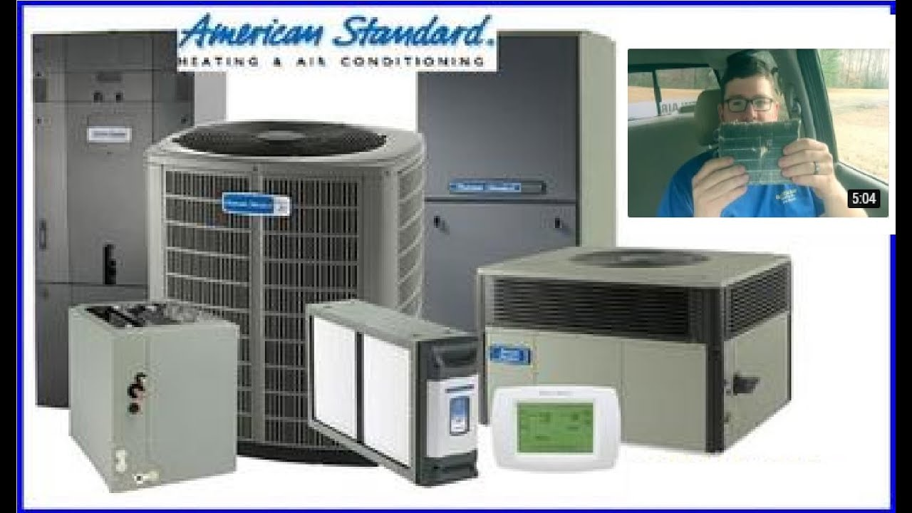 american standard hvac [ 1280 x 720 Pixel ]