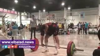 النقيب العراقى بعد فوزه ببطولة ألعاب القوى: 'الفوز هدية  لبلدي'.. فيديو وصور