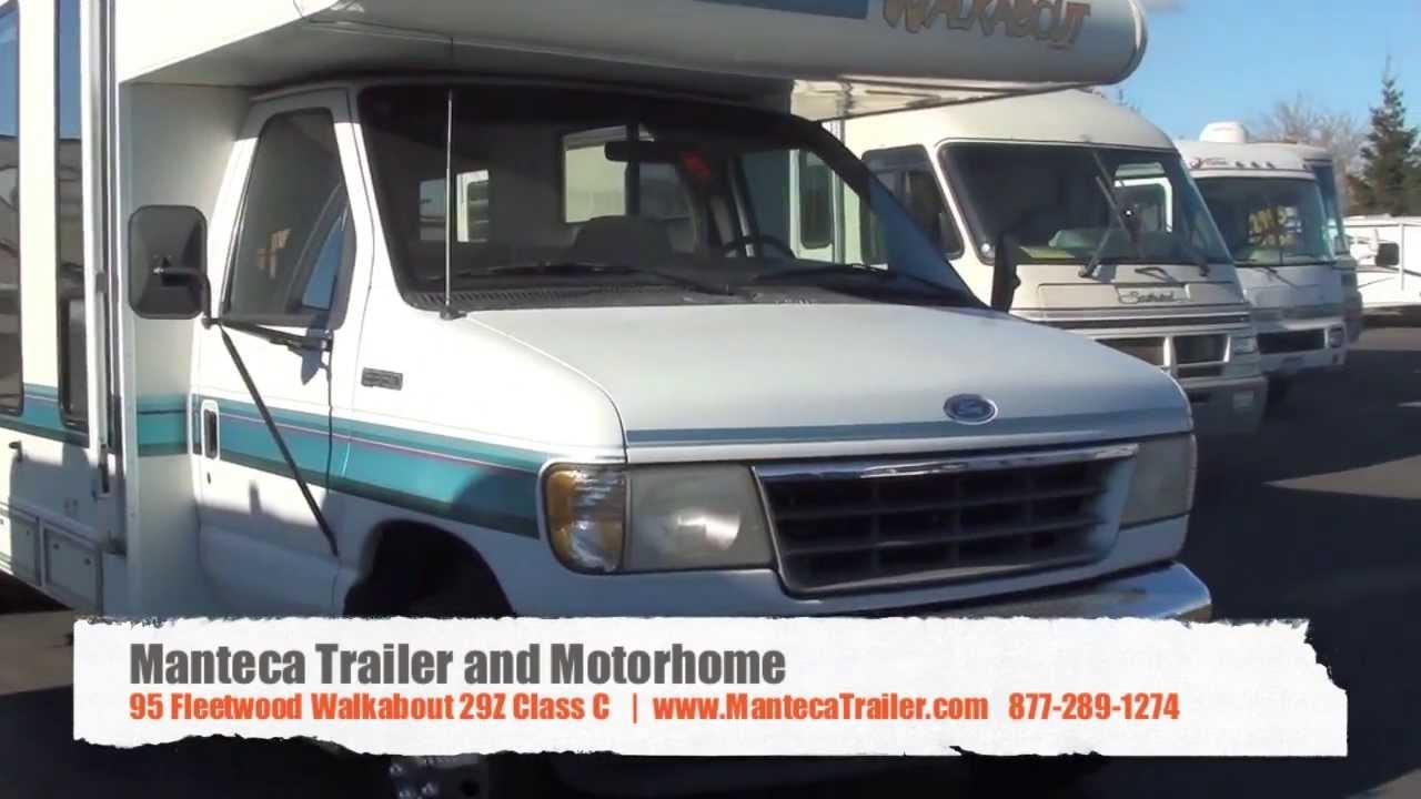 95 Fleetwood RV Walkabout 29Z