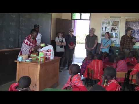 A school for Maasai girls in Kenya