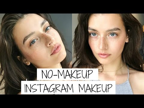 No-Makeup Makeup Tutorial for Instagram | Jessica Clements