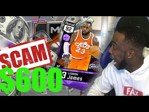 I PAID $600 FOR LEBRON JAMES! NBA 2k17 PACK OPENING EXPERIMENT RANT! SCAM! MUST WATCH!