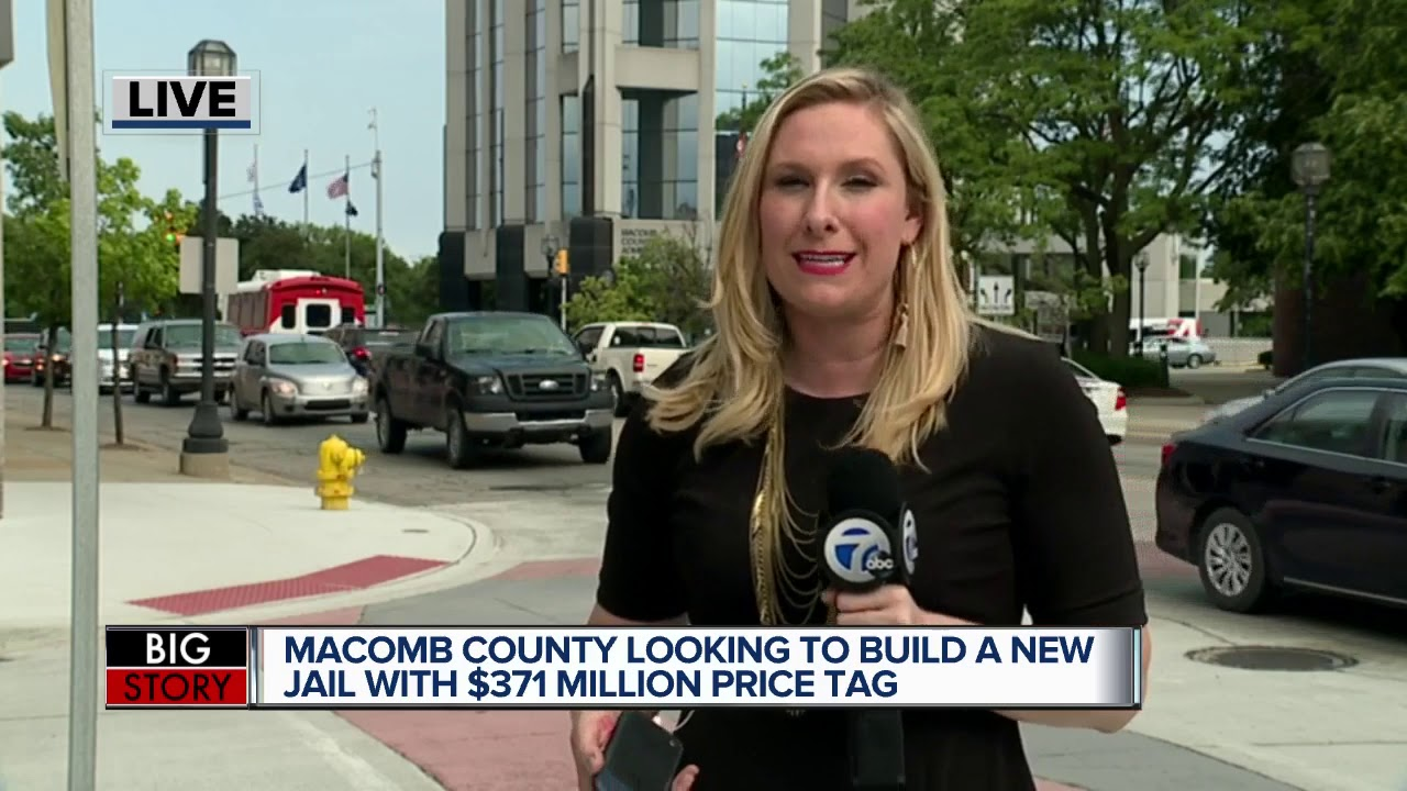 Proposal for new Macomb County Jail