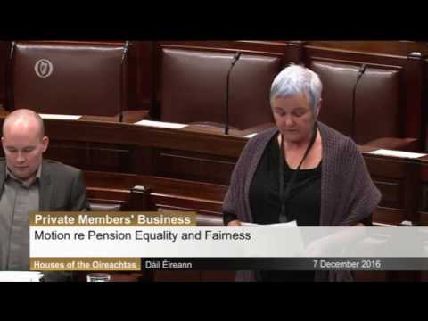 Brid Smith speaking on the outrageous attack on pensions