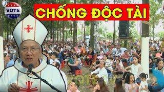 Hàng chục ngàn người Đồng Nai tập trung ủng hộ Đức Giám Mục Nguyễn Thái Hợp vì câu nói quá đúng
