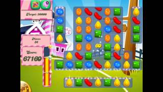 Candy Crush Saga: Level 244 (No Boosters 3★) iPad 4