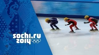Short Track Speed Skating - Ladies' 1000m Heats | Sochi 2014 Winter Olympics