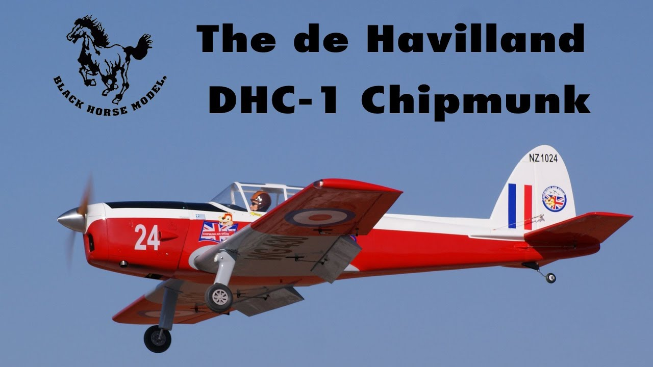 Black Horse Models The De Havilland Dhc