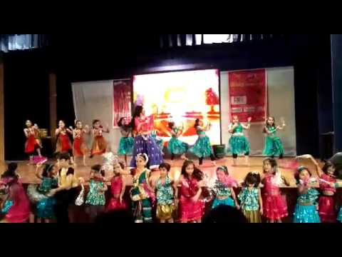 Aanya's dance at sparkx dance academy annual function 2016