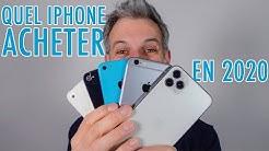 Quel iPhone Acheter en 2020 ?
