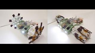 Origami Wheel Transformer