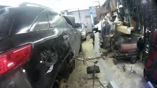 кузовной ремонт, рядовой случай