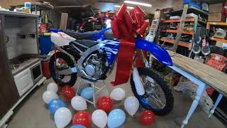 Surprise Husband with a Dirtbike for his Birthday!