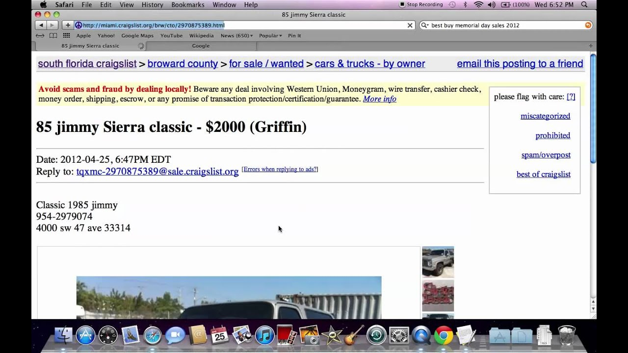 Craigslist Used Cars For Sale by Owner  Searching Vehicles Under