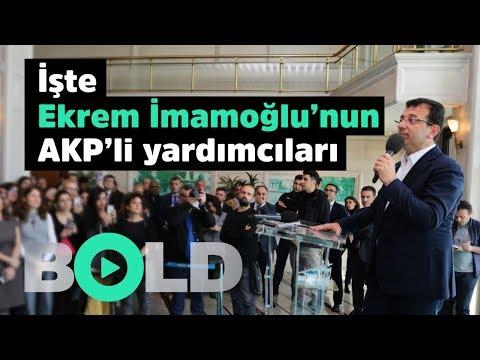 İşte Ekrem İmamoğlu'nun kazanmasına yardım eden AKP'liler | İmamoğlu'na mazbatayı hediye ettiler |