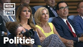 Trump Caught Lying About Melania and Kim Jong-Un | NowThis