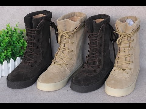 720755c25ec Time to Cop one Yeezy Season 2 Military Crepe Boot+on Feet - YouTube