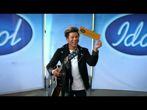 Guldbiljetterna regnar över Jönköping - Idol 2017 - Idol Sverige (TV4)