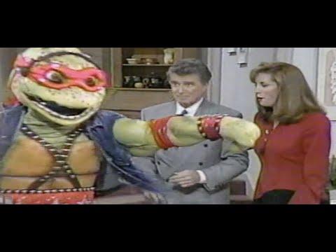 Download Teenage Mutant Ninja Turtles on Regis and Kathie Lee