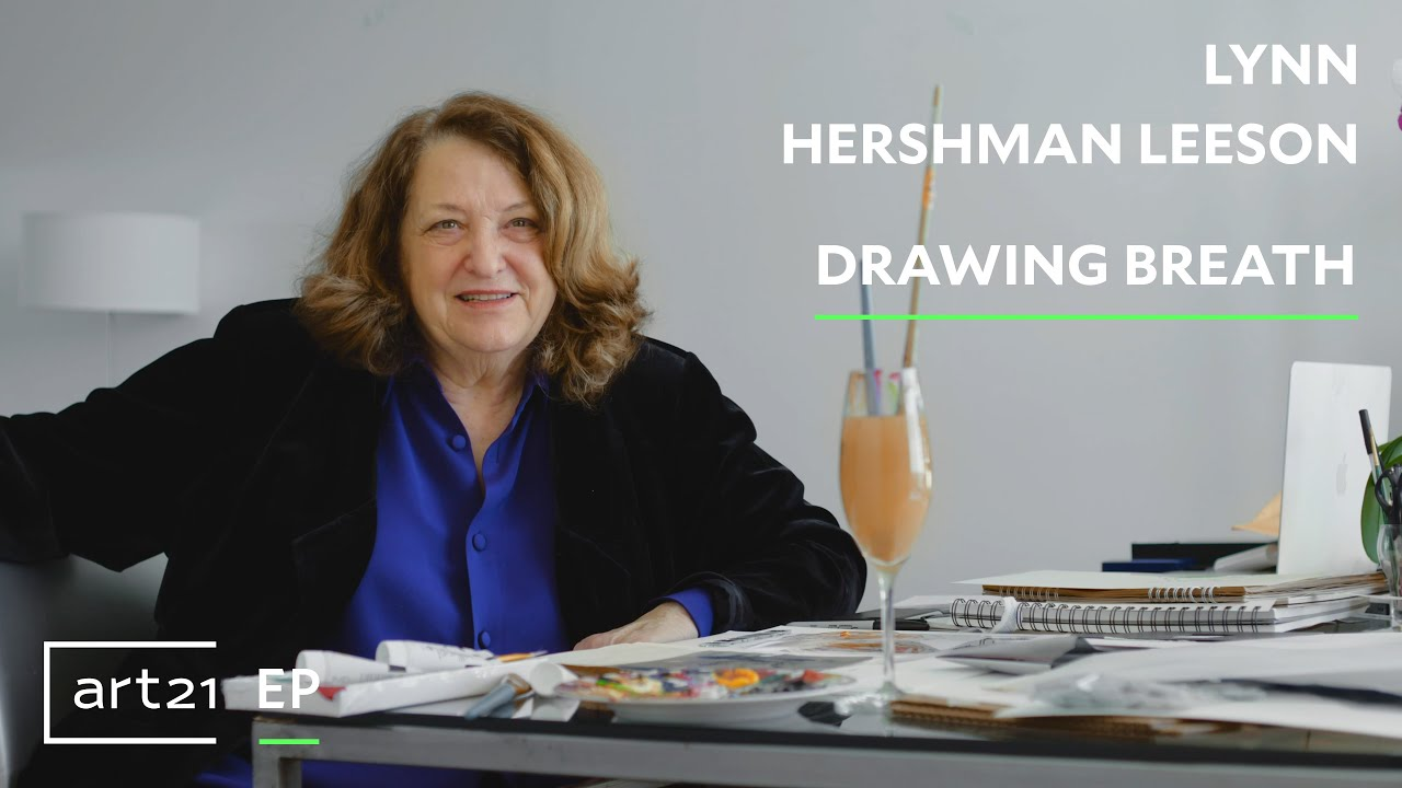 "Lynn Hershman Leeson: Drawing Breath | Art21 ""Extended Play"""