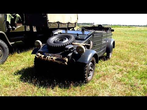 Kübelwagen VW Typ 82 WWII German OLDTIMER