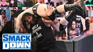 Roman Reigns & Jey Uso vs. Sheamus & King Corbin – Samoan Street Fight: SmackDown, Sept. 18, 2020