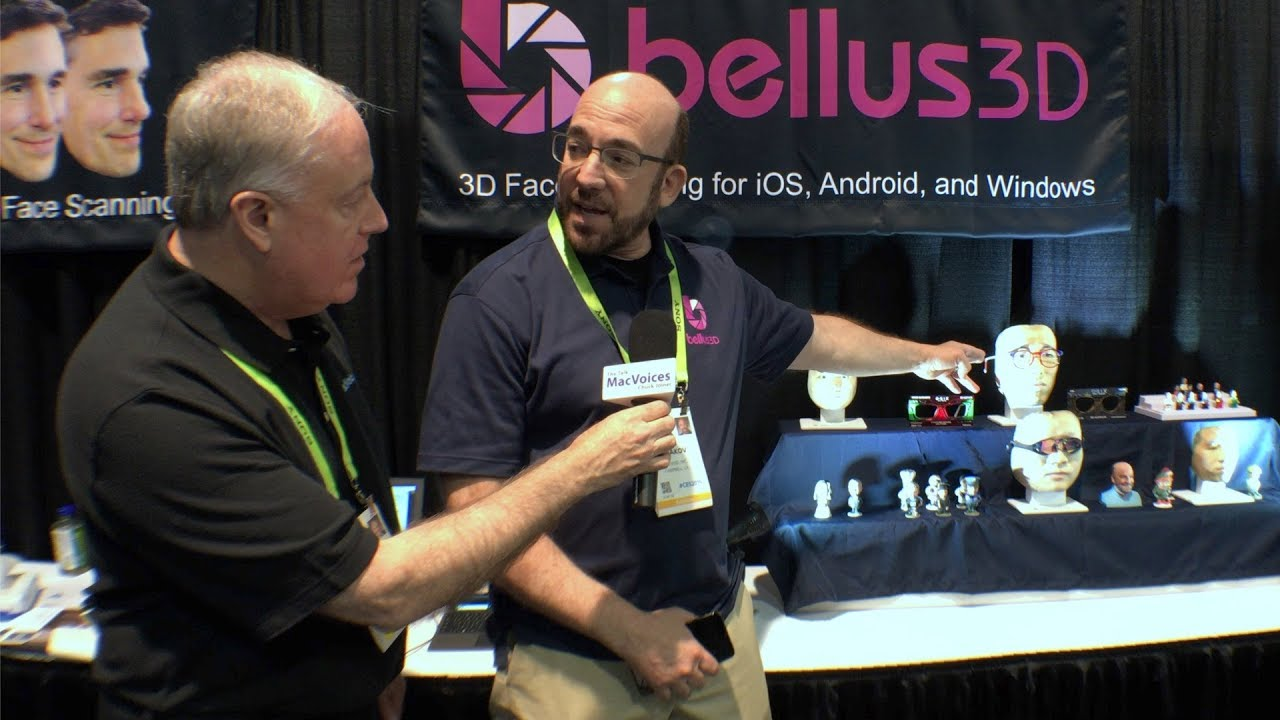 MacVoices #19074: CES - Bellus3D Can Scan Your Face With An iPhone For  Various Uses
