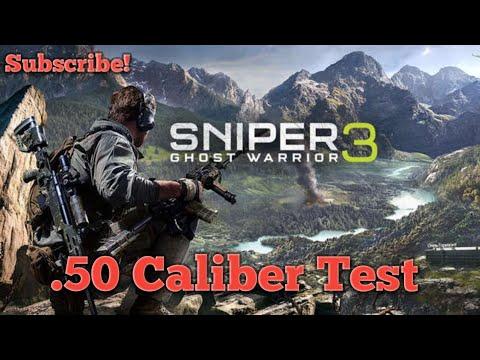 Download Sniper Ghost Warrior 3, .50 Caliber Test ( MindBlowing )