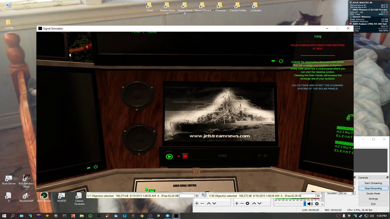 How to Add & Watch VHS Tapes in Signal Simulator