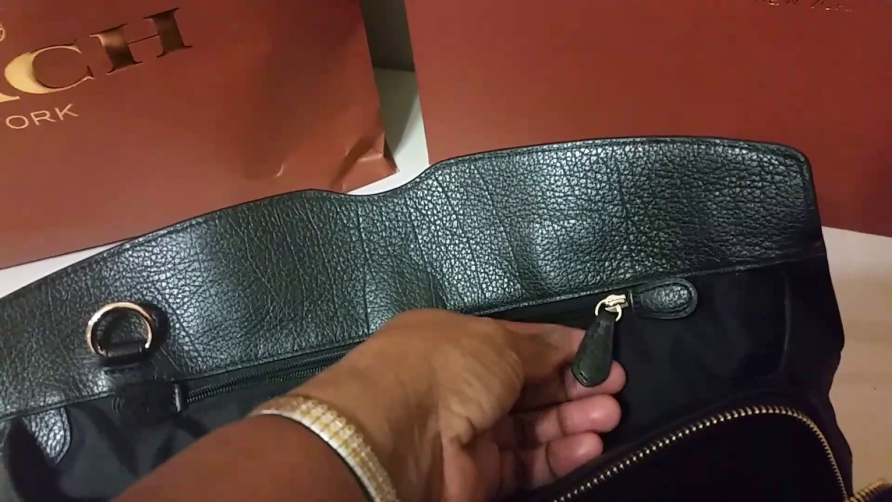Coach Mercer Satchel ( the Larger Size) - YouTube 394195c04f061