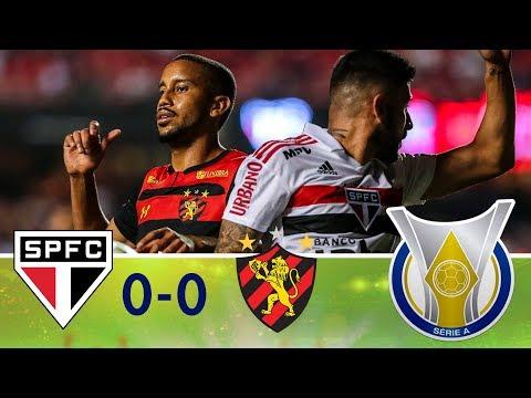 Melhores momentos - São Paulo 0 x 0 Sport - Campeonato Brasileiro (26/11/2018)