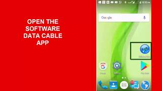 sOFTWARE DATA CABLE ANDROID APPLICATION  TRANSFER YOUR DATA WITHOUT USB CABLE VERY FAST