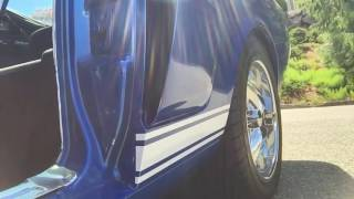 1965 mustang fastback Shelby side exit exhaust