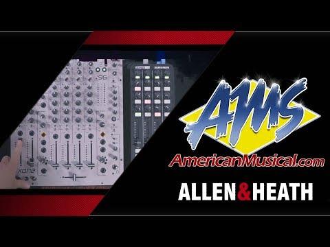 Allen & Heath Xone 96 & K2 Demo w/ SpinnZinn - American Musical Supply