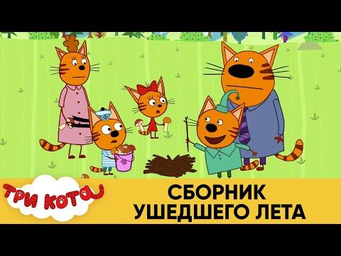 Три Кота | Сборник Ушедшего Лета | Мультфильмы для детей