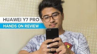 Huawei Y7 Pro 2018: Unboxing & Hands on Review