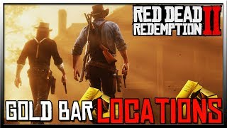 Red Dead Redemption 2 Gold Bar Locations - All But One!