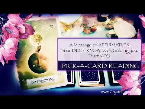 Special Message from Your HigherSelf | Pick-A-Card Intuitive