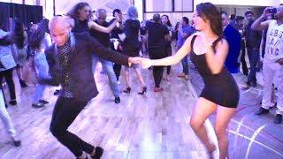 Dalia Lazcares & Noel Rojas social dancing @ 2018 L.A. Salsa Fest!