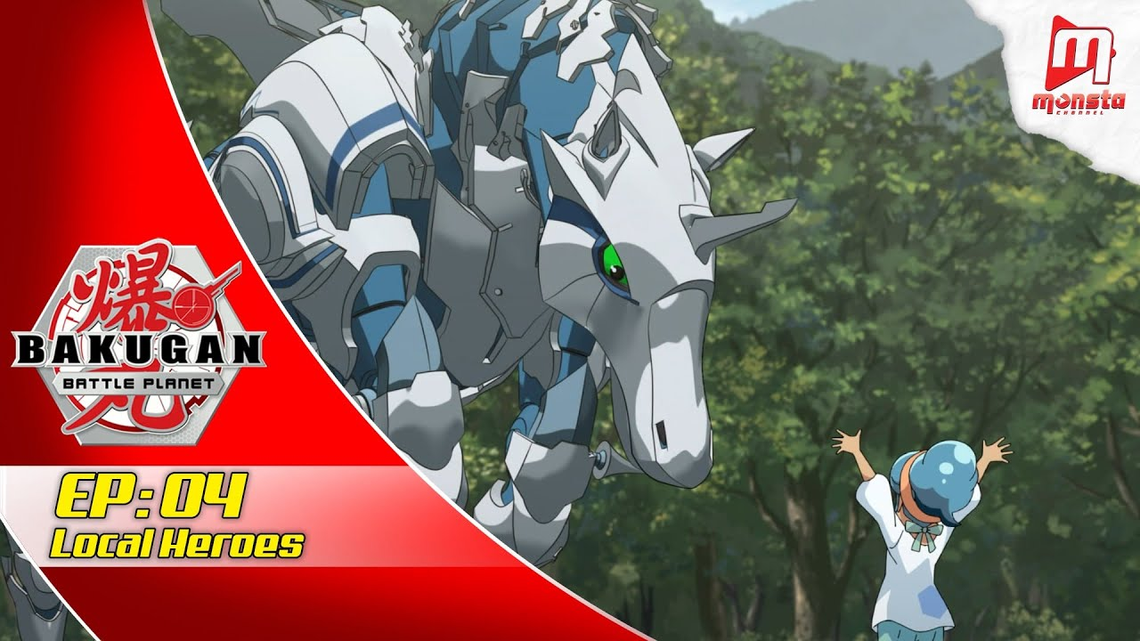 Bakugan: Battle Planet  - EPISODE 04 | Local Heroes (EN Audio)