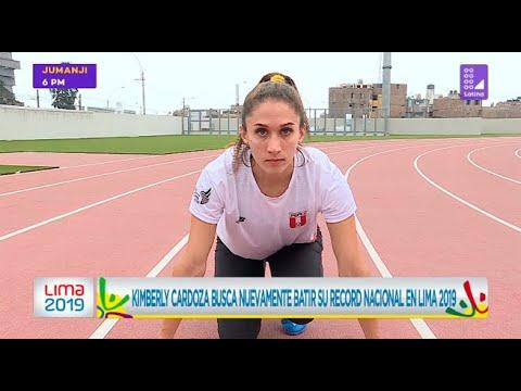 Kimberly Cardoza busca nuevamente batir el record nacional en Lima 2019